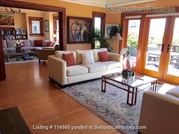 Berkeley Hills Craftsman with stunning bay views, close to campus Home Rental in Berkeley, California, United States 0