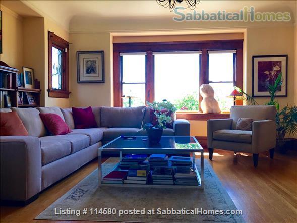 Berkeley Hills Craftsman with stunning bay views, close to campus Home Rental in Berkeley, California, United States 2