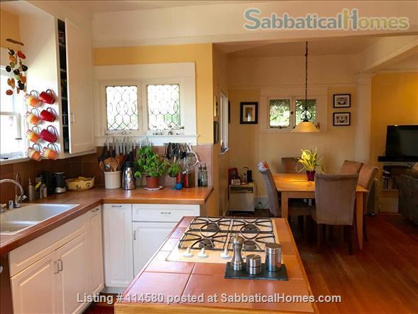 Berkeley Hills Craftsman with stunning bay views, close to campus Home Rental in Berkeley, California, United States 5