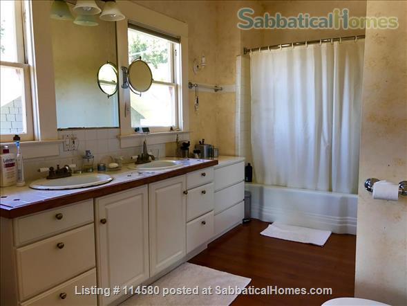 Berkeley Hills Craftsman with stunning bay views, close to campus Home Rental in Berkeley, California, United States 6