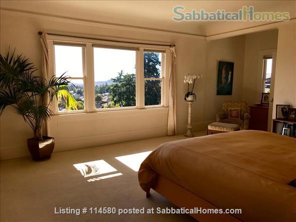 Berkeley Hills Craftsman with stunning bay views, close to campus Home Rental in Berkeley, California, United States 8