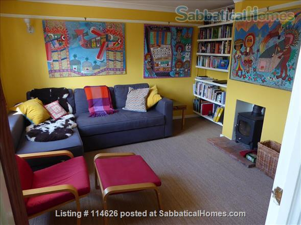 Bright 3 bed family home in Cambridge UK, with beautiful garden including raised bed and toddler safe pond! Home Rental in Cambridge, England, United Kingdom 6