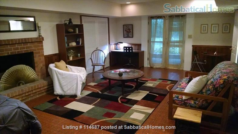Furnished apartment in quiet, wooded neighborhood near UNC Home Rental in Chapel Hill, North Carolina, United States 1