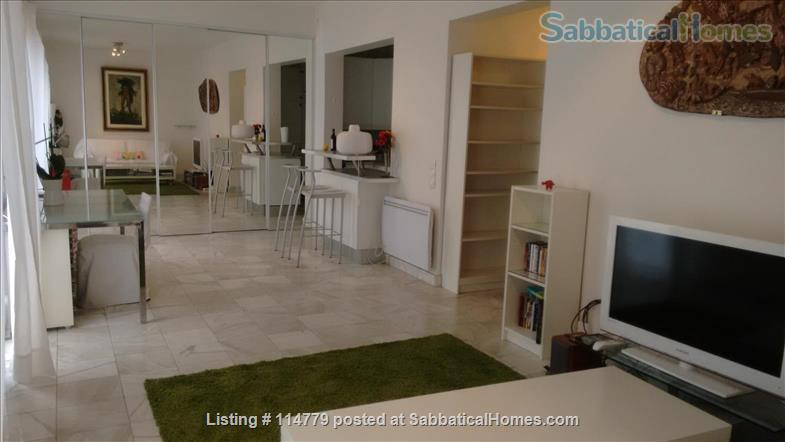 Flat 2 beds 60m2 with garden and terrace Home Rental in Paris, Île-de-France, France 0