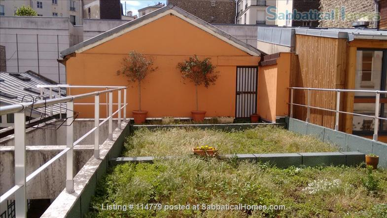 Flat 2 beds 60m2 with garden and terrace Home Rental in Paris, Île-de-France, France 3