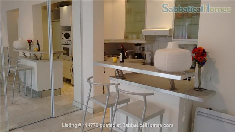 Flat 2 beds 60m2 with garden and terrace Home Rental in Paris, Île-de-France, France 6