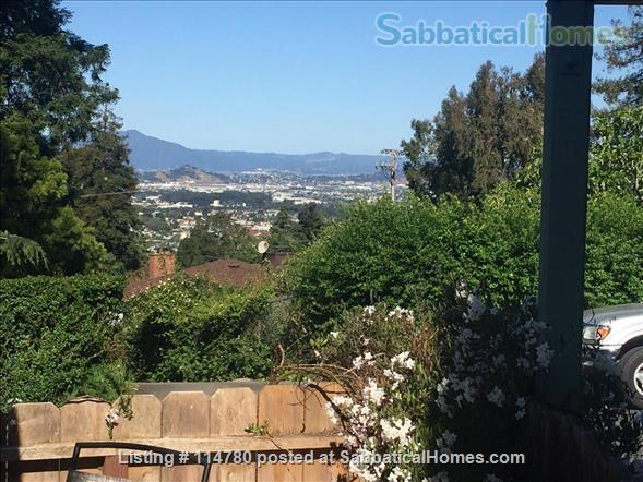 Idyllic Spacious Kensington/North Berkeley Studio With Private Deck And Views. Close To Berkeley & UCB. Home Rental in Kensington, California, United States 0