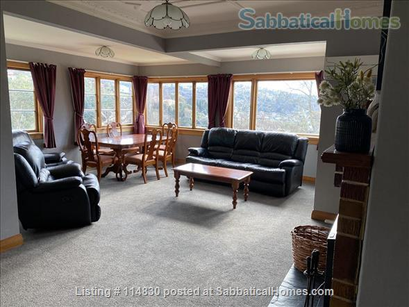 Sunny 3-bedroom home set in tranquil sheltered garden, fully furnished Home Rental in Dunedin, OTA, New Zealand 0
