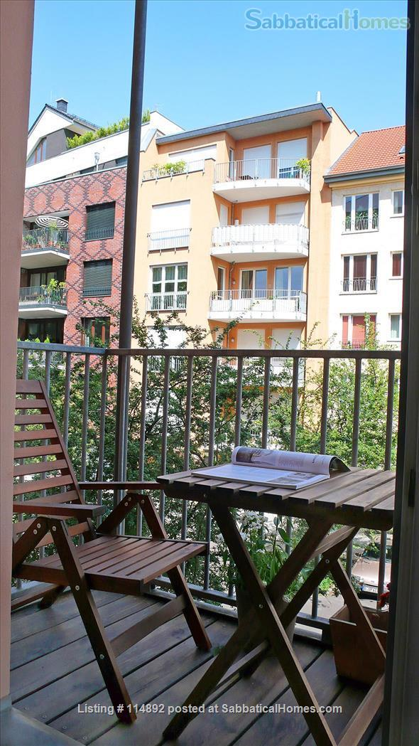 Desgin Apt in Mitte Premium Location 2 Rooms bright, silent 2 Balconies, with a big working table Home Rental in Berlin, Berlin, Germany 7