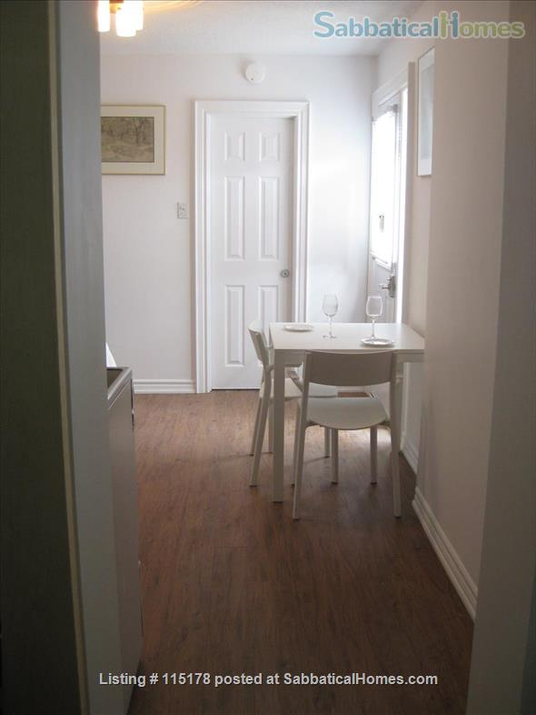 Cozy, central  ground floor flat, close to transit! Home Rental in Toronto, Ontario, Canada 4
