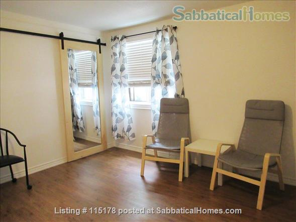 Cozy, central  ground floor flat, close to transit! Home Rental in Toronto, Ontario, Canada 6