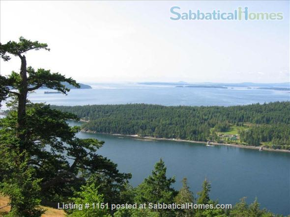 Kingfisher Cove,  Oceanfront Cottage in Southern Gulf Islands,  next to National/Marine Park, with dock & deep water moorage,  40 MIN ferry to Swartz Bay/Victoria +20 mins to UVic; or ferry/float plane to Vancouver/UBC Home Rental in Pender Island, British Columbia, Canada 1