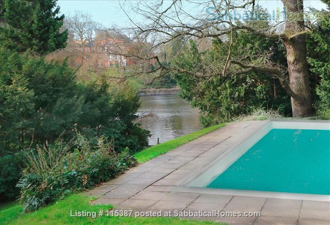 Design Lakeside Apartment with Pool Home Rental in Berlin, Berlin, Germany 9