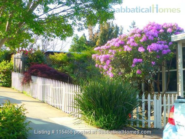 Private one-bedroom apartment with garden patio, fully furnished and equipped, in best Berkeley neighborhood Home Rental in Berkeley, California, United States 9