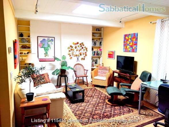 Private one-bedroom apartment with garden patio, fully furnished and equipped, in best Berkeley neighborhood Home Rental in Berkeley, California, United States 1