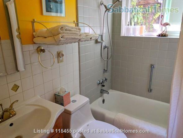 Private one-bedroom apartment with garden patio, fully furnished and equipped, in best Berkeley neighborhood Home Rental in Berkeley, California, United States 6