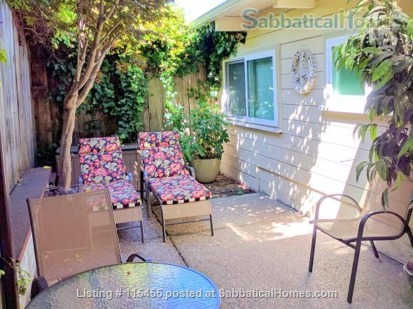 Private one-bedroom apartment with garden patio, fully furnished and equipped, in best Berkeley neighborhood Home Rental in Berkeley, California, United States 7