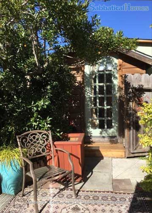 J4 Sunny, Cozy Patio Cabin, 3 Blocks BART, Private Shower Home Rental in Berkeley, California, United States 1
