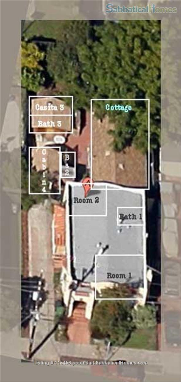 J4 Sunny, Cozy Patio Cabin, 3 Blocks BART, Private Shower Home Rental in Berkeley, California, United States 7