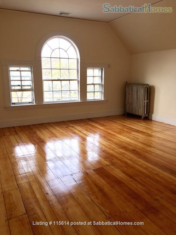 Private 3rd Floor Unit: 2 Large, Sunny Bedrooms, Luxury Bathroom & Kitchenette. Private Entrance. Short Walk to T (Green Line), Near Rte 95/128  Home Rental in Newton, Massachusetts, United States 1