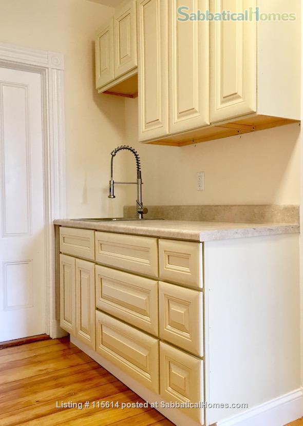 Private 3rd Floor Unit: 2 Large, Sunny Bedrooms, Luxury Bathroom & Kitchenette. Private Entrance. Short Walk to T (Green Line), Near Rte 95/128  Home Rental in Newton, Massachusetts, United States 6