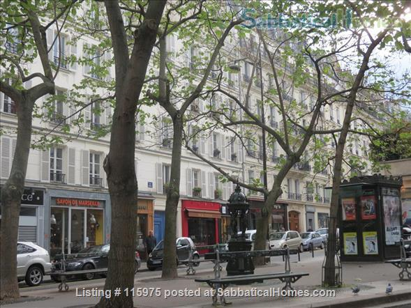 Sunny Apartment near Luxembourg Gardens.  Perfect for an academic couple. Home Rental in Paris, Île-de-France, France 1