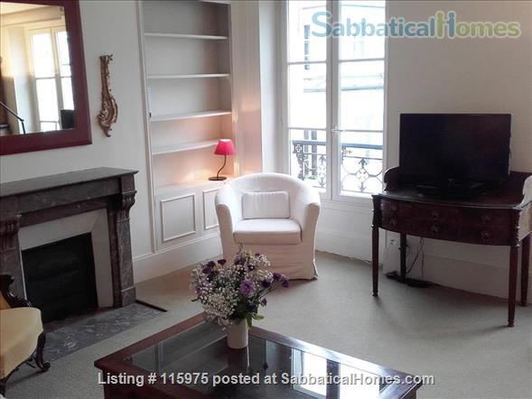 Sunny Apartment near Luxembourg Gardens.  Perfect for an academic couple. Home Rental in Paris, Île-de-France, France 0