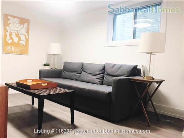 1 Bedroom + Den Beautiful Renovated Furnished Aparment Home Rental in Toronto, Ontario, Canada 2