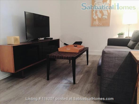 1 Bedroom + Den Beautiful Renovated Furnished Aparment Home Rental in Toronto, Ontario, Canada 3