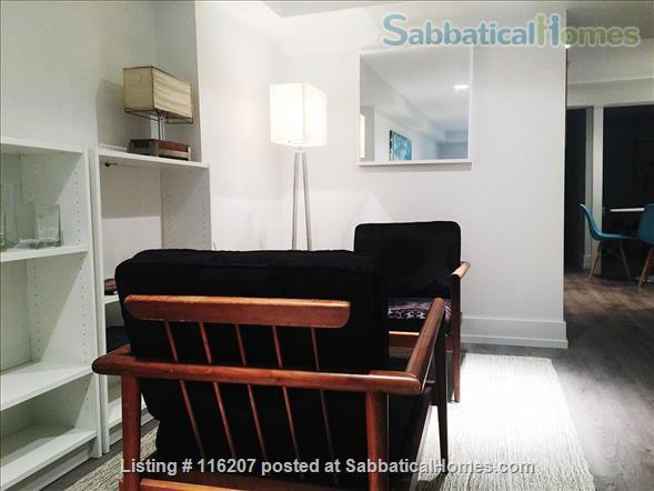 1 Bedroom + Den Beautiful Renovated Furnished Aparment Home Rental in Toronto, Ontario, Canada 6