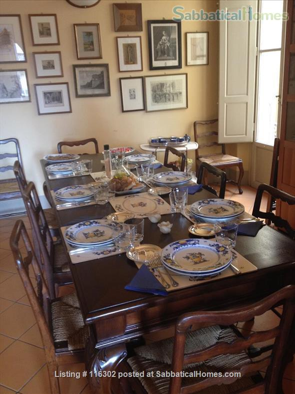 Splendid XVIII Ce 2500sqf Apartm @ Florence near Santa Croce Home Exchange in Florence 3
