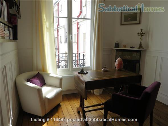 Charming Parisian Apartment  (near a  PARK) Home Rental in Paris, Île-de-France, France 1