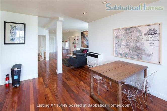 Spacious Noe Valley Garden with Deck / Cedar Hot Tub:  May 1, 2021 Home Rental in San Francisco, California, United States 2