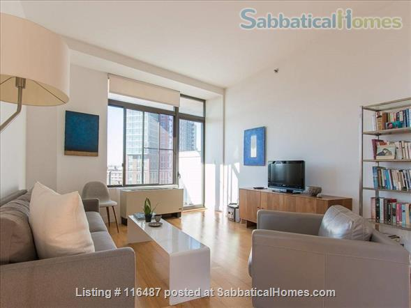 Luxury 1 Bedroom Loft Apt with Private Balcony in the Heart of Brooklyn, NY Home Rental in Brooklyn, New York, United States 1