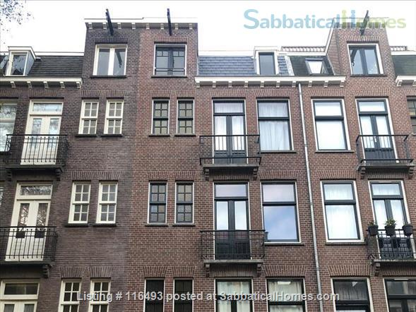 Light Top Floor Apartment with Roof Terrace Home Rental in Amsterdam, Noord-Holland, Netherlands 0