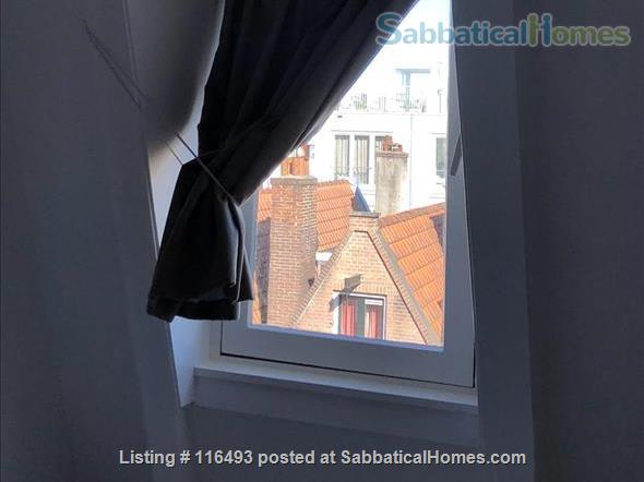 Light Top Floor Apartment with Roof Terrace Home Rental in Amsterdam, Noord-Holland, Netherlands 4