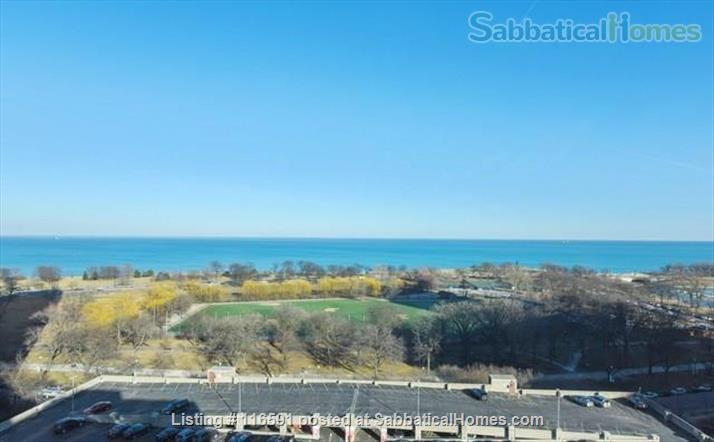 Spacious Lakeview Penthouse - Furnished 2br 2ba - all internet, tv, & utilities included! - Academic Year Lease Home Rental in Chicago, Illinois, United States 1