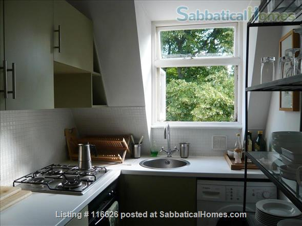 Charming writer's home in Notting Hill Home Rental in Greater London, England, United Kingdom 2