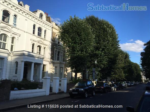 Charming writer's home in Notting Hill Home Rental in Greater London, England, United Kingdom 8