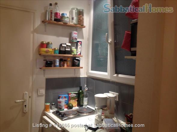 Furnished 20 m2 (200 sq. ft.) 1st studio for rent Home Rental in Paris, Île-de-France, France 2