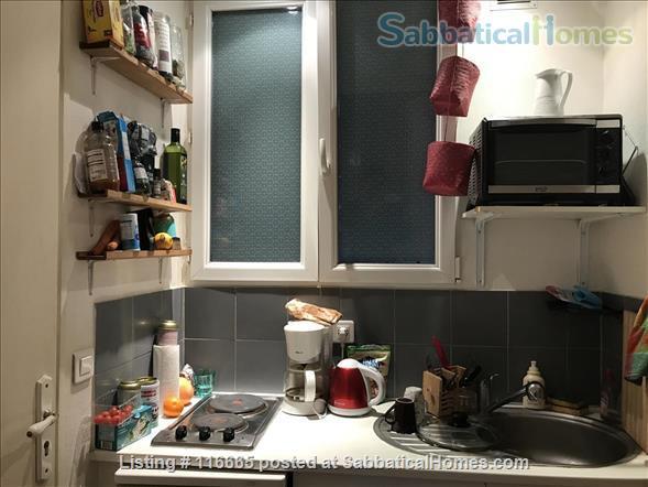 Furnished 20 m2 (200 sq. ft.) 1st studio for rent Home Rental in Paris, Île-de-France, France 4