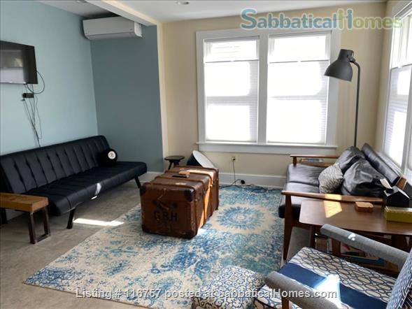 Fully Furnished Garden Apartment Short-term, Walk Metro, Utilities Included Home Rental in Takoma Park, Maryland, United States 1