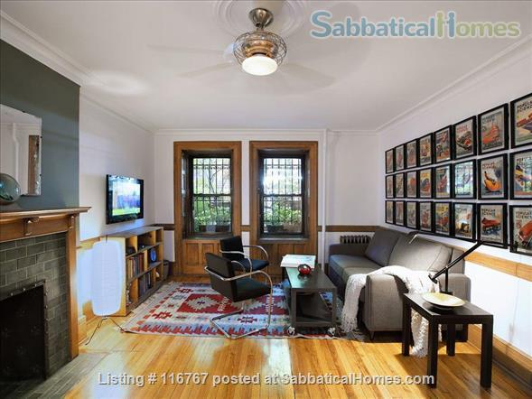 Harlem Hideaway Garden Apartment Home Rental in New York 3 - thumbnail