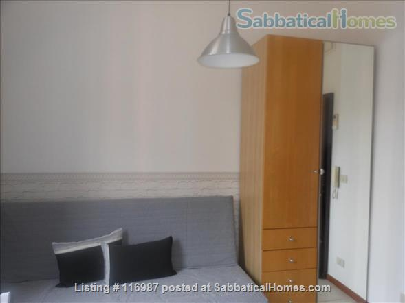 Bright, quiet and well connected studio apartment  Home Rental in Rome, Lazio, Italy 5