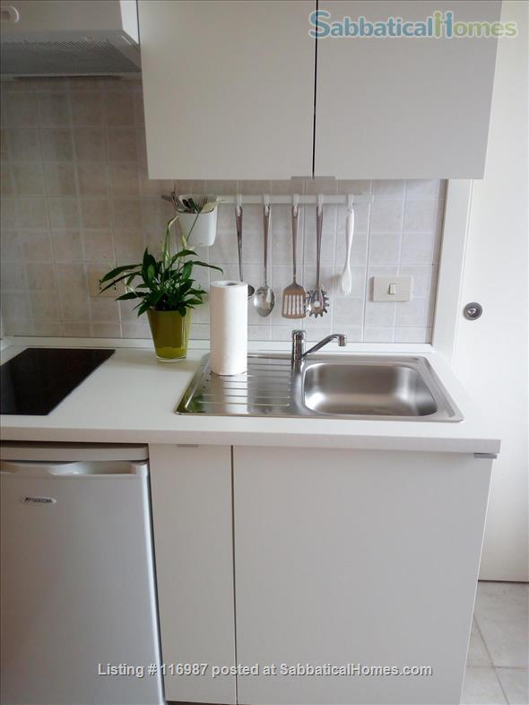 Bright, quiet and well connected studio apartment  Home Rental in Rome, Lazio, Italy 8
