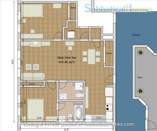 $3890/2br - Min 6 mts Lux Condo nr Subway, Easy Harvard, Tufts w UTILITIES. Home Rental in Cambridge, Massachusetts, United States 9