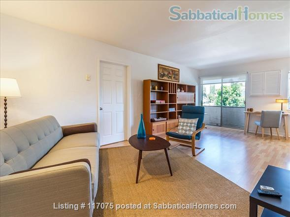 Top Floor Westwood Condo with Mid-Century Vibe Home Rental in Los Angeles, California, United States 1
