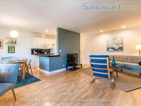 Top Floor Westwood Condo with Mid-Century Vibe Home Rental in Los Angeles, California, United States 0