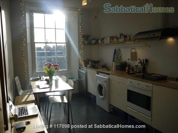 Bright & quiet 2 bedrooms flat in UNESCO Old Town, Edinburgh Home Rental in Edinburgh 0 - thumbnail
