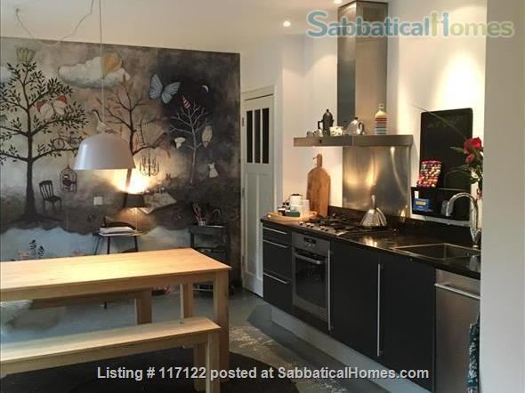 Charming canal view; garden apartment in Delft Home Rental in Delft, Zuid-Holland, Netherlands 1